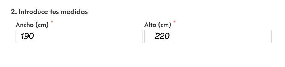 Cómo medir estores - mediciones