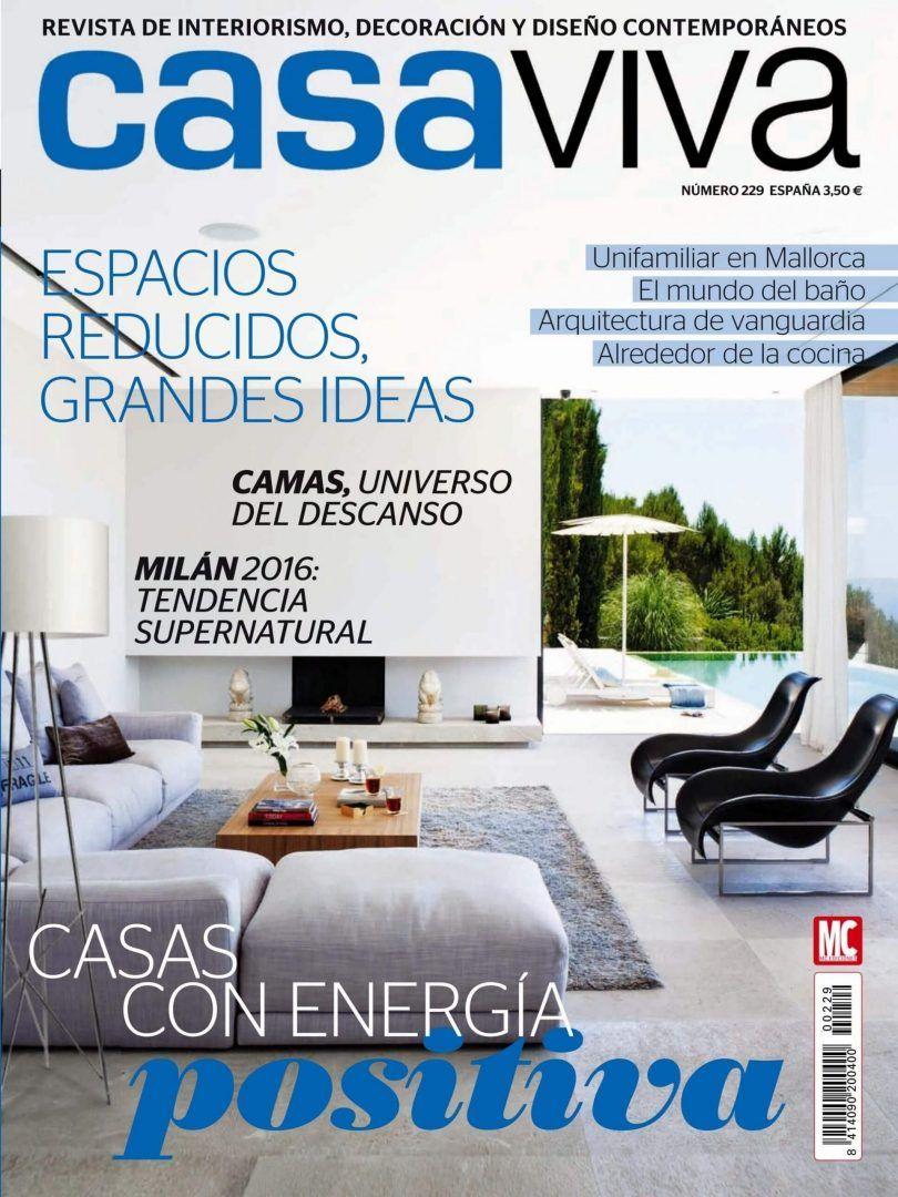 portada de la revista de decoracion casa viva
