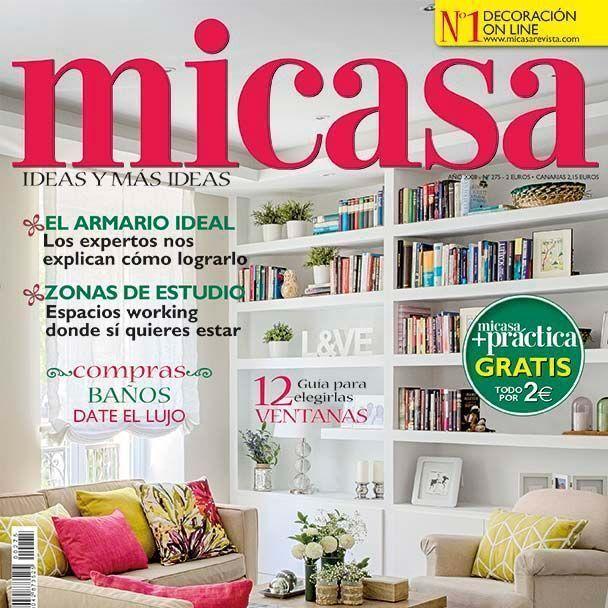 Portada de la revista de decoración MiCasa