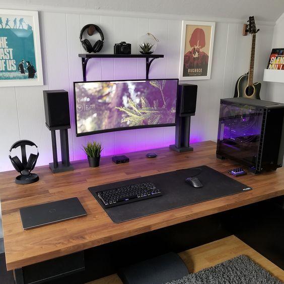escritorio pantalla organizada