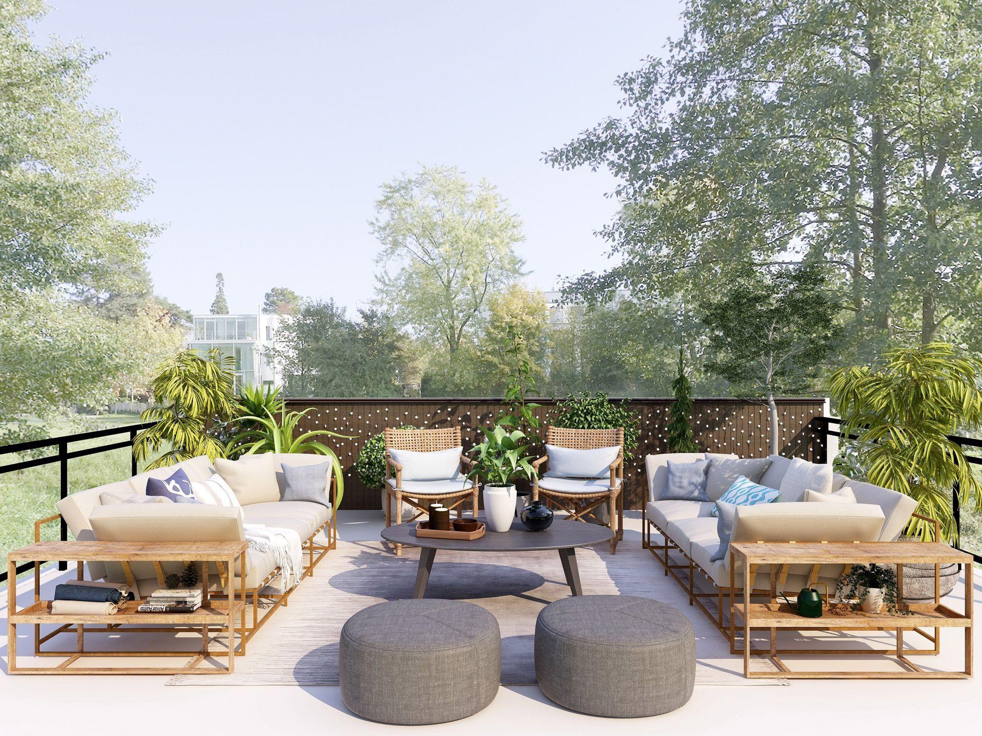 6 buenas ideas para la decoración de tu jardín o terraza